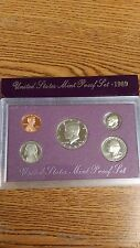 UNITED STATES MINT PROOF SET 1989 COIN SET NEW IN ORIGINAL PACKAGE