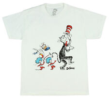 Dr. Seuss Boys' Cat In The Hat Thing 1 Thing 2 Licensed T-Shirt