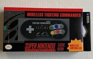 HORI Fighting Commander Wireless Controller (SNES Classic Edition)
