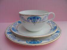 A very unusual Shelley Art Nouveau pattern 10730 Bute shape tea trio. C.1915.