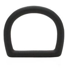Die Cast D-Ring 1 1/4 x 1 3/16 Id Black 14867-13