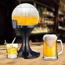 Dispensador de Cerveza 3.5L Enfriador Hielo Zumos Vino Refrescos Bebidas Bar