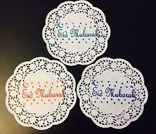 Eid Table/Party Decorations-30 X Paper Doilies (17cm Diameter)