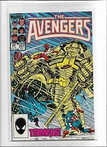 THE AVENGERS #257 1985 VERY FINE+ 8.5 6288 CAPTAIN AMERICA CAPTAIN MARVEL