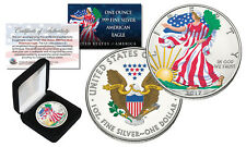 2017 1 oz Colorized 2-Sided American Silver Eagle .999 Coin (BU) with BOX & COA