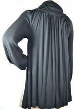 NEU! original MAX MARA Shirt edler Pullover SEIDE M oversized neu 279€ NEW black