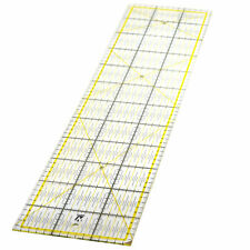 WINTEX Universal-Lineal / Rollschneider-Lineal, 16 cm x 60 cm, transparent