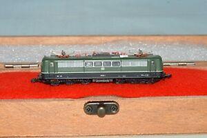 Z Scale Marklin mini-club 8857 BR 151 022-1 DB Green Electric Locomotive