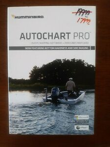 HUMMINBIRD AUTOCHART PRO REG Sz NOT SM NOS PC SOFTWARE W/ ZERO LINE v1.0 BH + SI