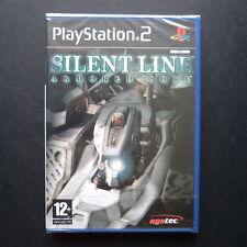 sealed ARMORED CORE SILENT LINE PlayStation 2 UK PAL English・♔・SHOOTER MECHA PS2