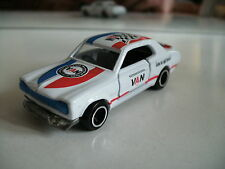 """Tomica Nissan Skyline H-T 2000 R racing """"Van Jac"""" in White (Made in China)"""