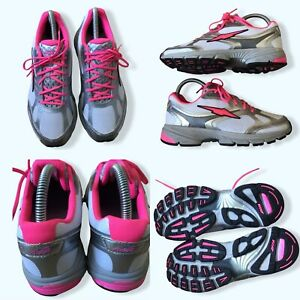 Avia Avi-Lite IV Womens Trainers Running Shoes Silver Size UK 5 Used VGC