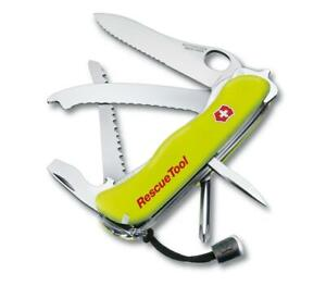 NEW Victorinox Rescue Tool in Phosphorescent Yellow (13 functions)- 0.8623.MWN