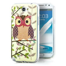 Hülle Samsung Galaxy Note 2  Handy Tasche Cover Schutzhülle Silikon Case 03