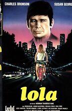 LOLA (1971) VHS Empire  1a Ed. Charles Bronson Susan George Thaddeus Vane