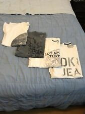 Men's DKNY 4 t-shirt lot Size: XL