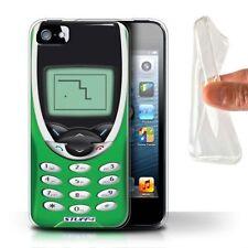 Housses et coques anti-chocs verts iPhone 5 pour téléphone mobile et assistant personnel (PDA)