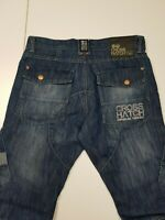 f11 - Men's Crosshatch Blue Jeans - Size W 32 X L29 Great Condition
