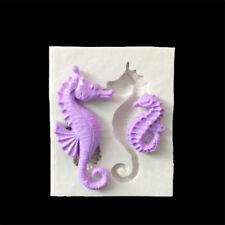 Sea Horse Silicone Fondant Mold Cake Decorating Tools Chocolate Gumpaste Mold HU