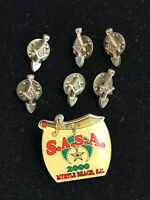 Masonic And Shriners Pin Lot SASA 2000 Myrtle Beach SC  Lot 574