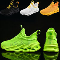 Men's Breathable Athletic Running Sneakers Outdoor Walking Sport Tennis Shoes