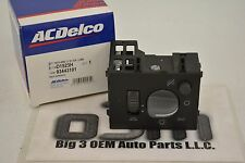 ACDelco Instrument Panel Headlight Dome and Dimmer Light Switch new OEM 93443101