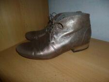 VIC by VIC MATIE*NP199€*Boots*38,5/39*goldbronze*K+S*Metallic*Used Optik*SUPER*