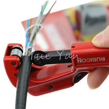 RUBICON Cable Slitter Tube Cutter 3-32mm Transverse Cutter Cable Sheath Stripper