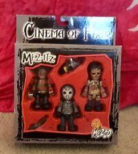 Mez-Itz  Mezco CInema of Fear Boxed Set Freddy, Jason, Leatherface NIP