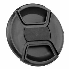 77mm Snap On Front Lens Cap Cover Center Pinch For Canon Nikon  Digital Camera