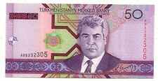 Turkmenistan   50 manat  2005     FDS UNC     Pick 17    Lotto 3417