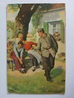 Deutsches Reich Ak - Postkarte v. 1917 - Inf. Rgt. 157 - Feldpost