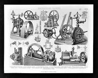 1874 Bilder MachineTechnology Print - Industrial Oscillating & Rotating Machines