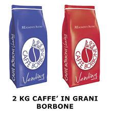 2 KG GRANI CAFFE' BORBONE MISCELA MIX