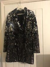 River Island Sequin Blazer Dress Dize 12