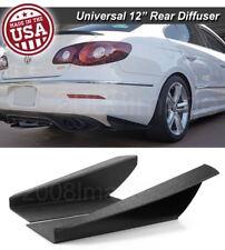 """12"""" G3 Rear Bumper Lip Downforce Apron Splitter Diffuser Canard For Mazda Subaru"""