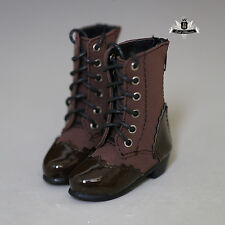1/3 BJD Shoes Supper Dollfie DREAM lolita brown Boots MID Luts AOD DOD SOOM AF