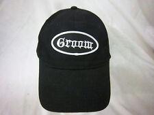 trucker hat baseball cap GROOM retro cool cloth rare 1980 punk