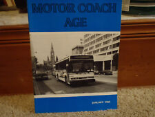 Motor Coach Age Magazine January 1985 Featuring Erie PA