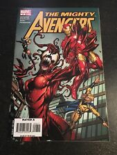 The Mighty Avengers#8 Incredible Condition 9.2(2008) Symbiote Battle, Bagley Art