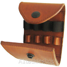 Radar Brown Leather Rifle Ammunition/Ammo Pouch