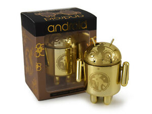 "ANDREW BELL DUNNY ACTION FIGURE ANDROID MINI COLLECTIBLE SE ""GOLDEN ROOSTER"""