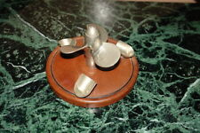 More details for mid 20th cent.novelty gucci pipe rack in the shape of a yacht propeller