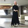 Dubai Style Cardigan Abaya Women Muslim Islamic Jilbab Cocktail Long Maxi Dress