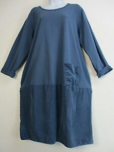 LONG SLEEVE DRESS AUTUMN/WINTER 95% COTTON LAGENLOOK ONE SIZE :Regular 12-16