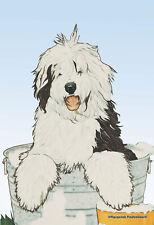 Pipsqueak Garden Flag - Old English Sheepdog 498291