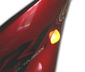 Proton 500 lumen V2 flush mount LED signals for 2000-04 Suzuki GSXR 600/750/1000