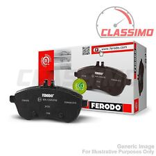 Front Brake Pads - TOYOTA MR2 Mk 1 AW11 - all models - 1984 to 1990 - Ferodo