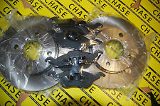 Ford Focus MKI 98-05, Front Brake Discs And Pads