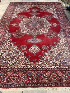 Täbriz Teppich Carpet Rug Orient Art Antik Perser Kunst Vintage Alt Handgeknüpft